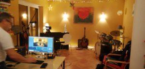 Das Wohnzimmer wird zum Aufnahmestudio